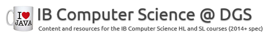 IB Computer Science @ DGS